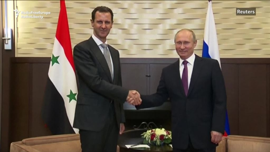 Putin, Assad declare Syria ready for political process