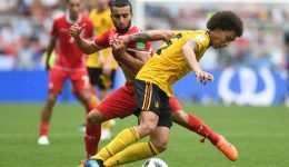 Belgium crushes Tunisia 5-2, moves step closer to World Cup knockout stage