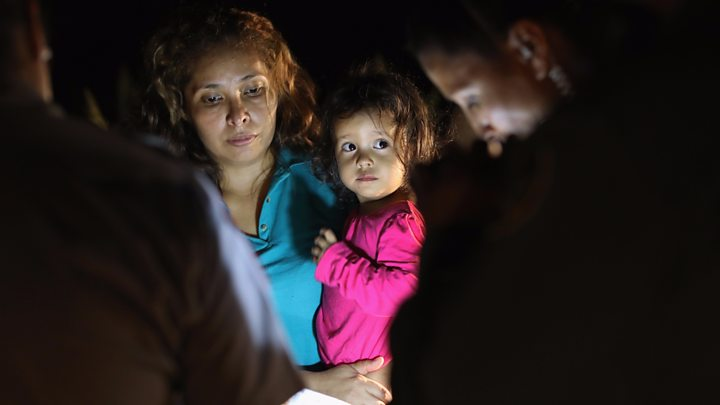 Confusion over fate of US child migrants separated from families