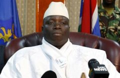 AIDS patients sue Gambia's ex-president over fake cures