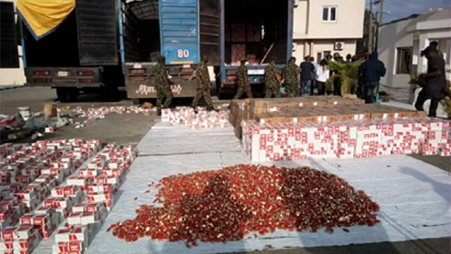 Nigeria army intercepts trucks loaded with over 300,000 live cartridges