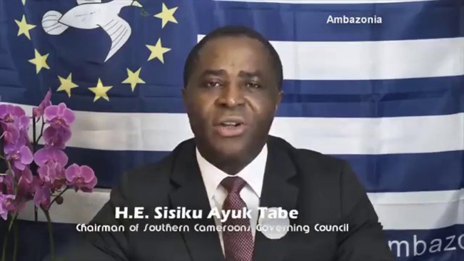 Federal Republic of Ambazonia: Leader Speaks of Justice Frederick Ebong