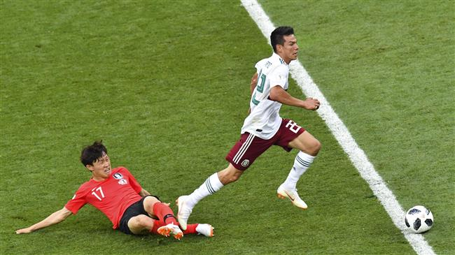 South Korea on edge with World Cup loss to Mexico