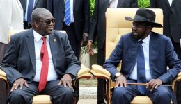 South Sudan's president, rebel leader sign final power-sharing deal