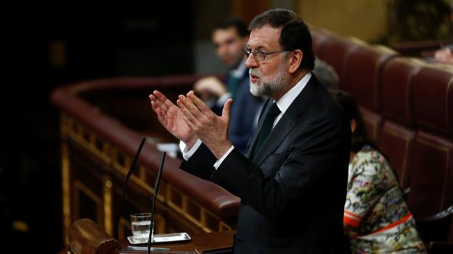 Spain parliament ousts Rajoy, names Socialist leader Sanchez as new PM