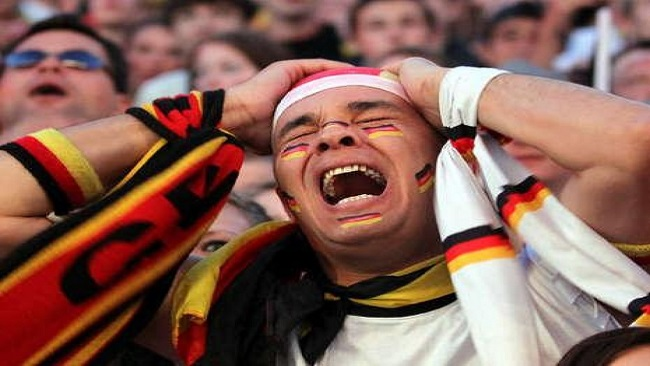 Fans in tears and shock after Germany eliminated from World Cup
