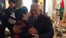 """Diego Maradona meets Mahmoud Abbas, Says """"I am Palestinian in my heart"""""""