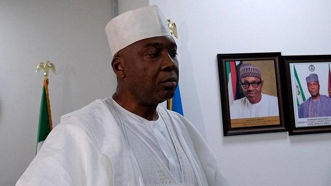 Nigeria Senate president Bukola Saraki quits ruling party
