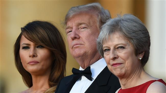 President Trump says British PM May's soft Brexit plan would kill UK-US trade deal