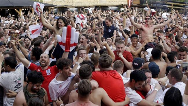 Russia 2018: UK police warn England World Cup fans after weekend's 'shocking behavior'