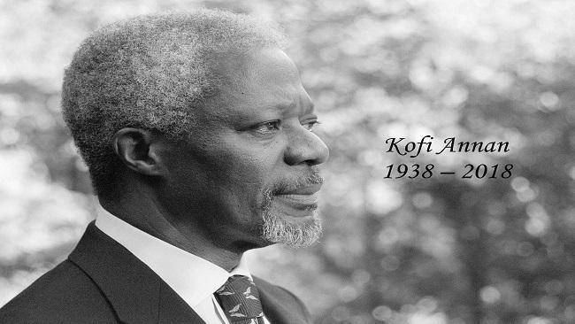 Farewell to Kofi Annan: Antonio Gutterres says Kofi Annan was the United Nations