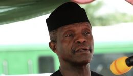 Nigeria's acting president slams parliamentary blockade