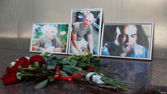 Central African Republic: Bodies of 3 Russian Journalists Killed in Sibut Return Home