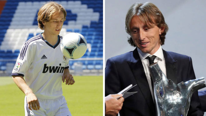 Luka Modric named UEFA Men's Player of the Year