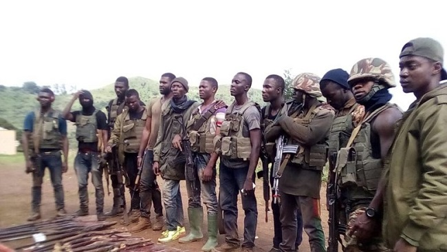 Ambazonia: Villagers Arrest Suspected Restoration Forces