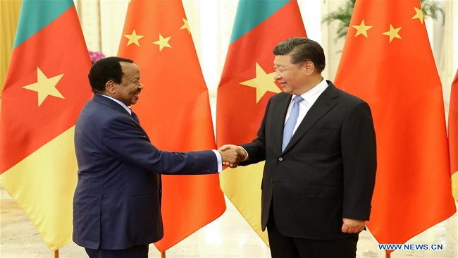 China-Cameroon ties have gone from largely symbolic to deep defense and political cooperation