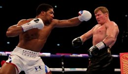Anthony Joshua KOs Alexander Povetkin to retain world heavyweight title
