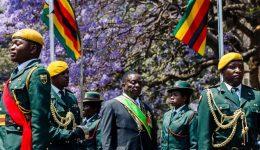 Zimbabwe opposition lawmakers walk out of President Mnangagwa address