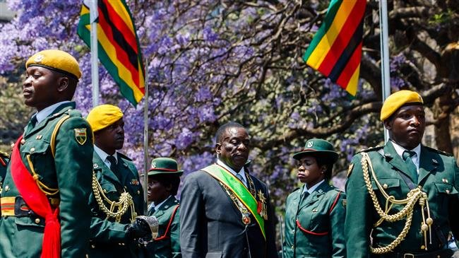 Zimbabwe opposition lawmakers walk out of President Mnangagwa address