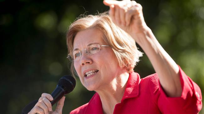 US: Senator Warren says it is time to remove President Trump