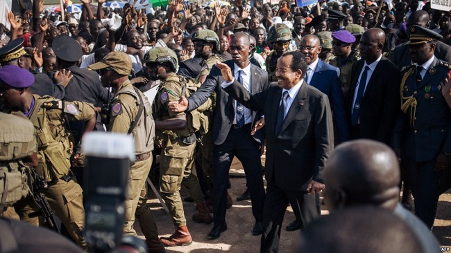 Israel looking after President Biya's security with elite forces