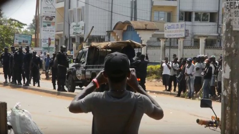 Cameroon's Presidential Poll: The crackdown begins!