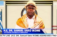 Dr Ikome Sako: Ambazonia's corruption-plagued Acting president should resign