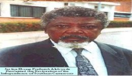 Ambazonia: Vice President Yerima announces State Burial For Justice Ebong