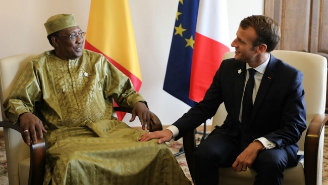 France's Macron in Chad amid Russian intervention fears in neighbouring Central Africa