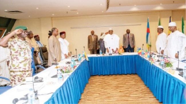 Philemon Yang, Idris Deby, Others adopt 8-point agenda to end Boko Haram
