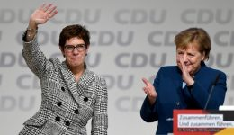 Merkel loyalist to replace her as leader of Germany's CDU party