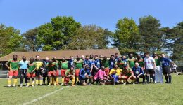 UK: Bisong Foundation stages charity football match between Cameroon's 1990 World Cup stars and Cambridgeshire Police FC