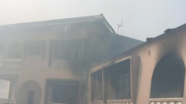 Southern Cameroons Crisis: Minister Dion Ngute's house set on fire