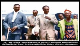 How Dr Kwameh Nkrumah's 1959 visit proves that the one and indivisible Cameroon mantra is a hoax
