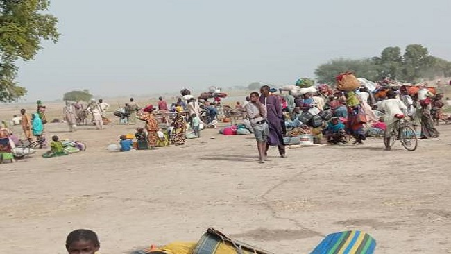 Thousands Of Nigeria IDPs Leave Rann For Cameroon Border After Boko Haram Attack
