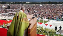 The Holy Father Pope Francis announces Japan visit in November