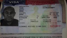 CAF President issued U.S. visa amid denial reports