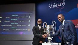 Champions League quarterfinals draw made in Switzerland