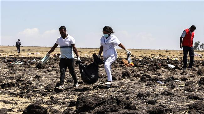 Search for crashed Ethiopian plane's black box continues