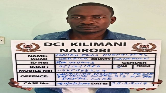 Cameroonian charged for swindling Kenyans in fake money scam