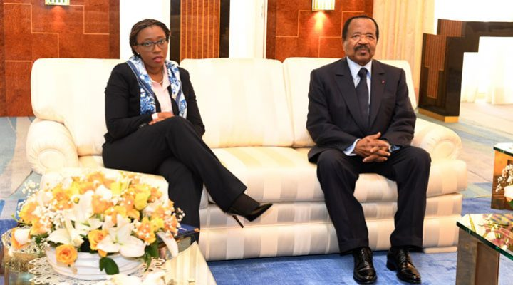 Biya discusses ratification of Africa free trade deal with ECA Official