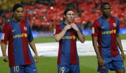 Messi, Puyol and Drogba lead tribute to retired Samuel Eto'o