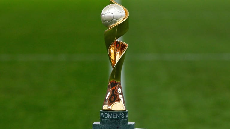 Yaounde receives FIFA Women's World Cup Trophy on tour for France 2019