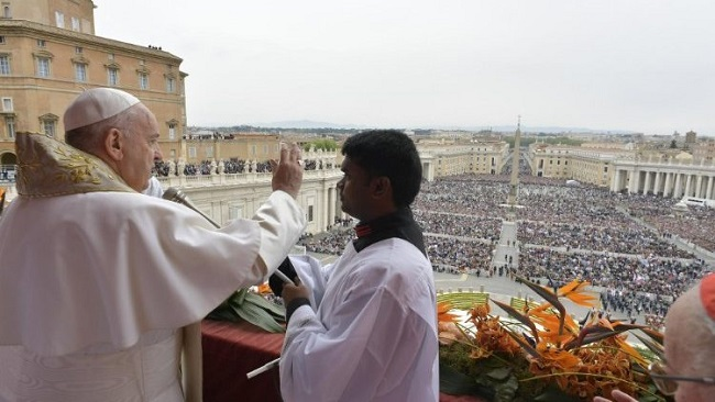 Pope Francis at Easter Urbi et Orbi specifically mentioned Cameroon and Nigeria