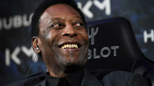 Football legend Pele hospitalized in Paris
