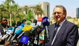 Russian deputy foreign minister says Moscow recognizes new Sudan authorities