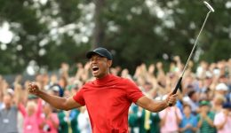 All hail Woods! Trump, Serena, Nicklaus join Tiger Twitter frenzy