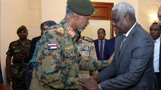African Union gives Sudan military third deadline of 60-days to hand over power
