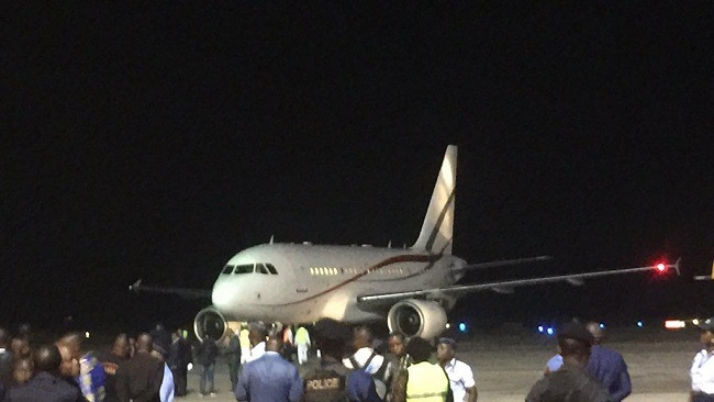 Former Congolese opposition leader's body arrives in Kinshasa