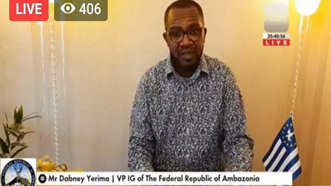 Ambazonia Vice President addresses nation and pledges support for Ground Zero